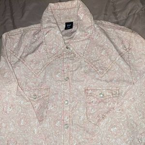 Floral western style Shirt